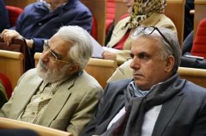 داود موسایی و دکتر نصرالله پورجوادی ـ عکس از متین خاکپور