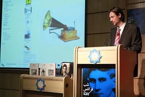 پروفسور ریچارد مولر ـ عکس از مجتبی سالک
