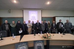 عکس یادگاری استادان و سخنرانان در نشست ـ عکس از جواد آتشباری