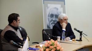 دکتر ایرج پارسی نژاد و علی دهباشی ـ عکس از متین خاکپور