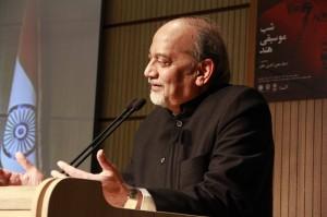 دی.پی.سری واستوا سفیر هند در ایران ـ عکس از ژاله ستار