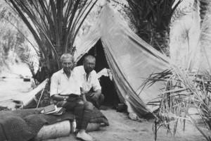 برنهارد ویدر و همسرش آگنس در سفر به کویرهای ایران