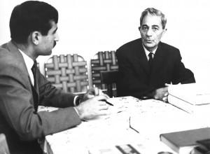 گفتگوی اسماعیل جمشیدی با زنده یاد سلیمان حییم