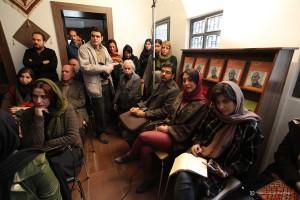دیدار و گفتگو با آیدین آغداشلو ـ عکس از جواد آتشباری