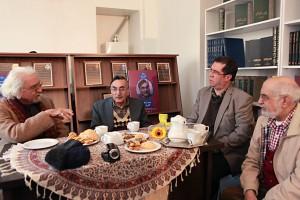 علی دهباشی و کامران فانی ـ عکس از مجتبی سالک