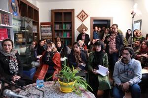 جلسه گفتگو با آیدین آغداشلو ـ عکس از مجتبی سالک