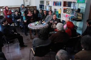 دیدار و گفتگو با دکتر باطنی ـ عکس از مجتبی سالک