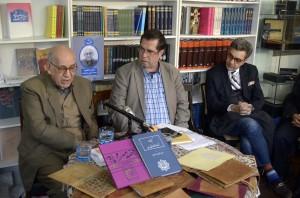 محمد حسین اسلام پناه ، علی دهباشی و آرش افشار