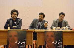 علی دهباشی، کارلو چرتی و مانی نعیمی ـ عکس از متین خاکپور