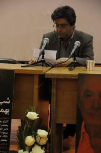 محمد یراقچی ـ عکس از ژاله ستار