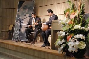 محمود رفیعیان، تنبک و امیر مسعود امیری ، سه تار و آواز
