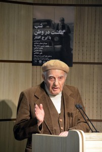 دکتر عبدالرحمان عمادی ـ عکس از متین خاکپور