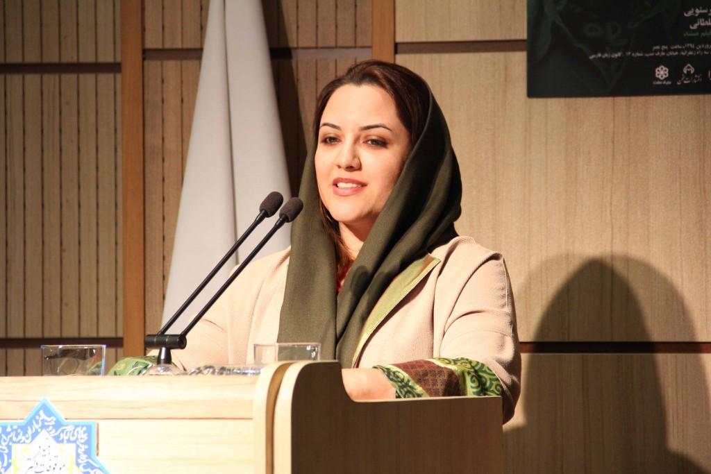 غزاله سلطانی ـ عکس از ژاله ستار