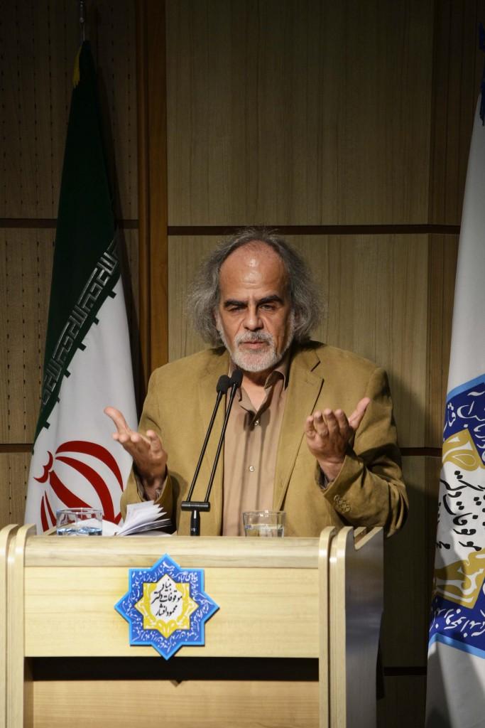 دکتر مصطفی ملکیان - عکس از متین خاکپور