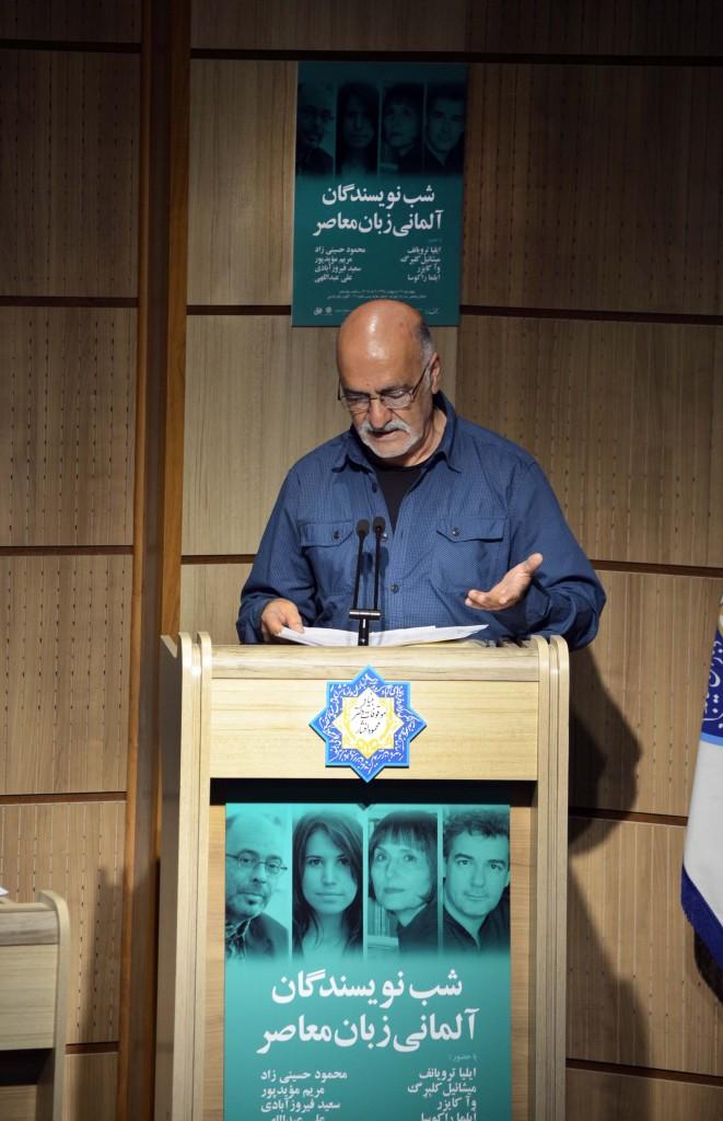 محمود حسینی زاد ـ عکس از متین خاکپور