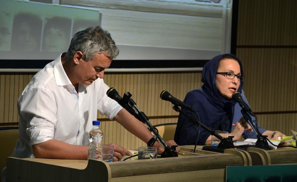 مریم مؤیدپور و ایلیا ترویانف ـ عکس از متین خاکپور
