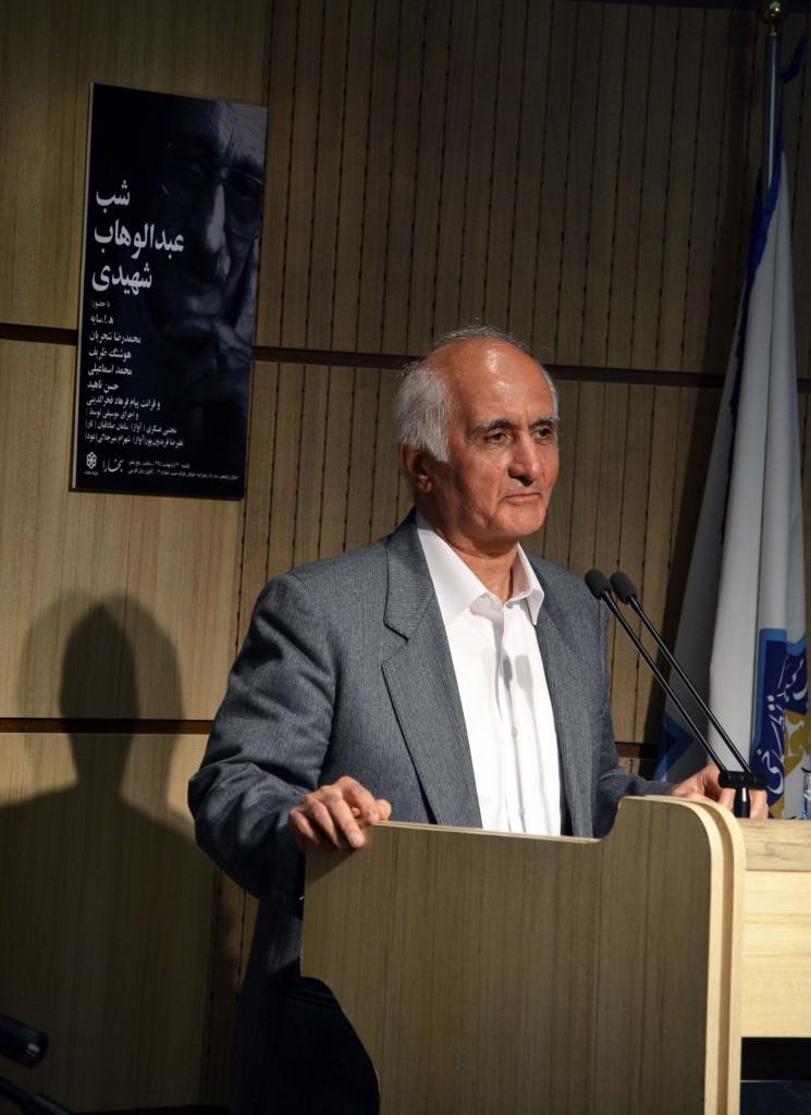 دکتر موقتیان ـ عکس از متین خاکپور