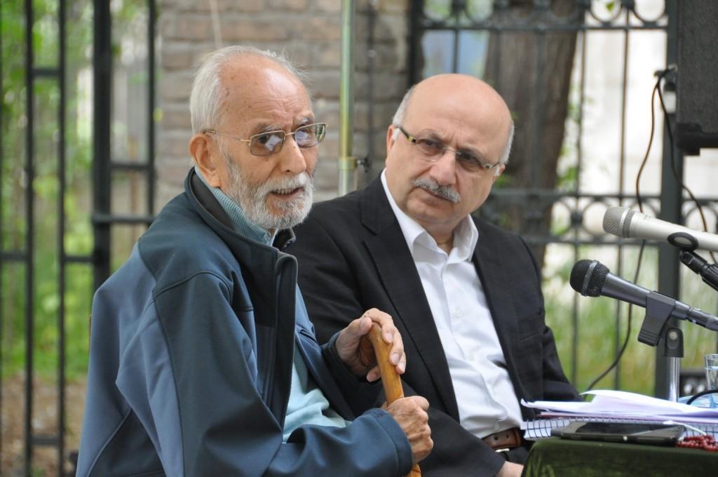 محمد علی موحد و عدنان اوغلو ـ عکس از مهدی خدیری
