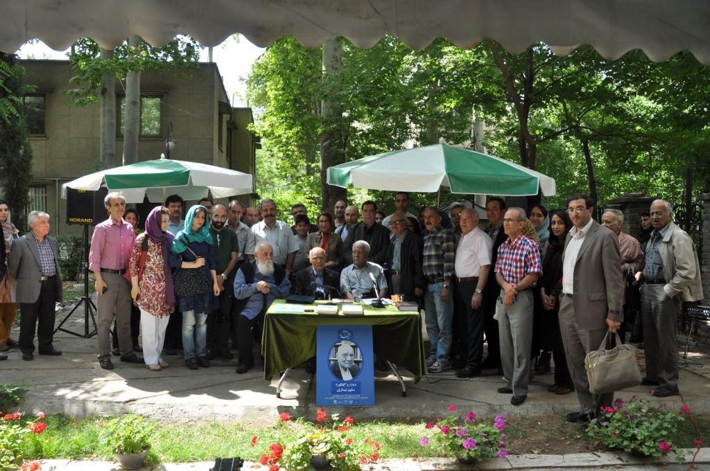 عکس یادگاری در دیدار و گفتگو با دکتر سلیم نیساری
