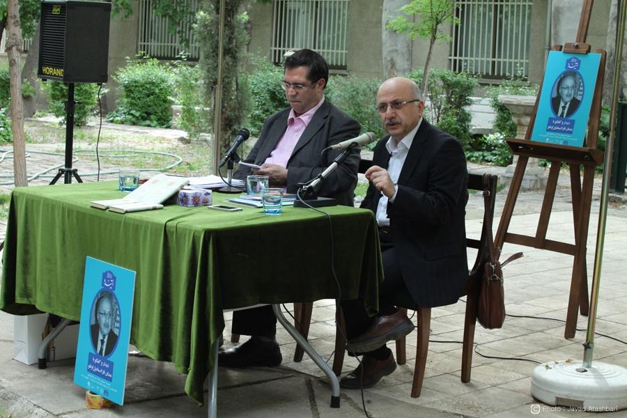 دکتر عدنان اوغلو و علی دهباشی ـ عکس از جواد آتشباری