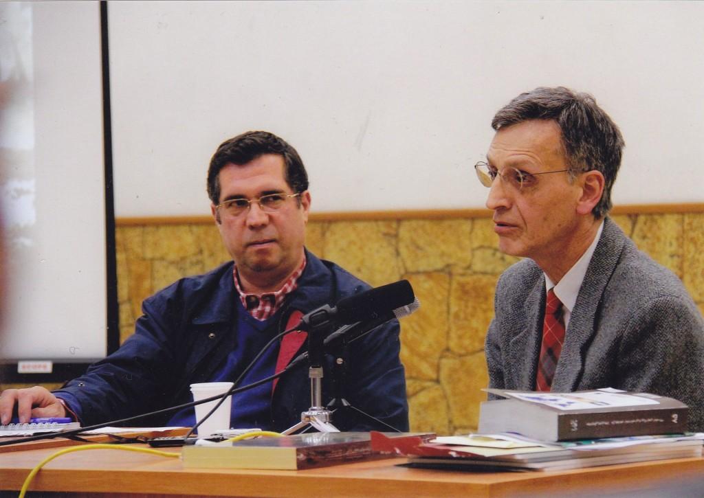 با دکتر شهریار عدل در شب مونتابونه