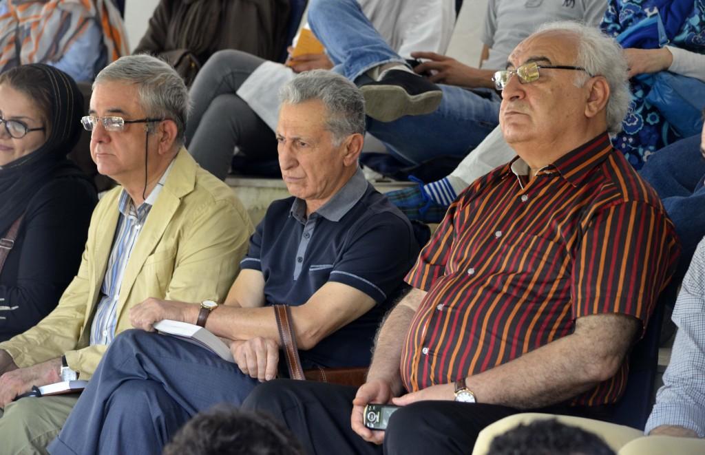 اسماعیل جمشیدی، سیروس علی نژاد و دکتر سرمد قباد - عکس از متین خاکپور