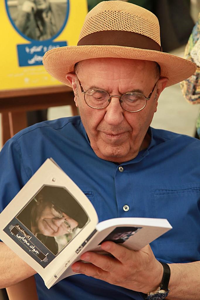 جواد مجابی - عکس از مجتبی سالک