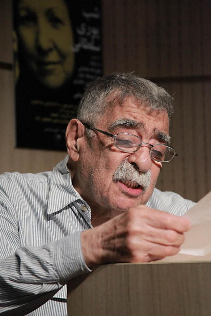 سید عبدالله انوار ـ عکس از مجتبی سالک