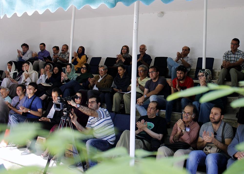 دیدار و گفتگو با حسن انوری ـ عکس از مریم اسلوبی
