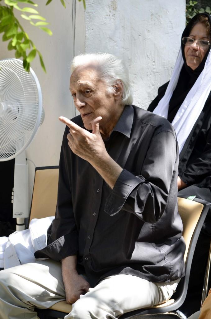منوچهر انور ـ عکس از متین خاکپور