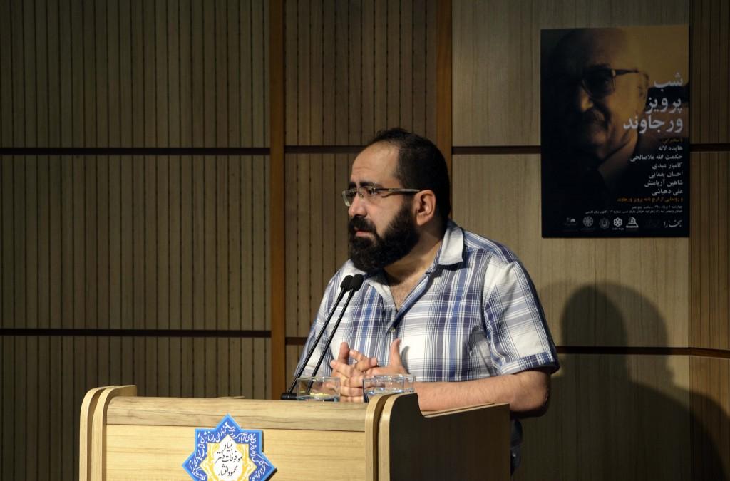 دکتر کامیار عبدی ـ عکس از متین خاکپور