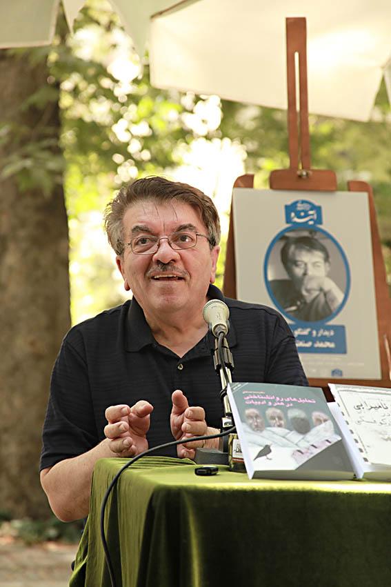 محمد صنعتی ـ عکس از مجتبی سالک