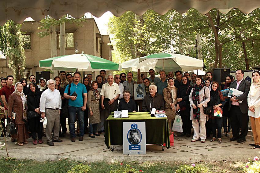 عکس یادگاری با محمد صنعتی ـ عکس از مجتبی سالک