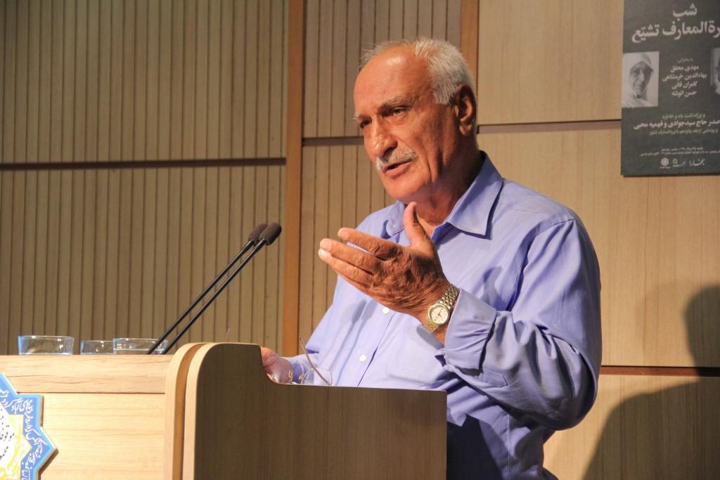 دکتر حسن انوشه - عکس از ژاله ستار