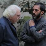 محمدرضا بهمن پور، مدیر نشر نظر و دکتر داریوش شایگان ـ عکس از ژاله ستار