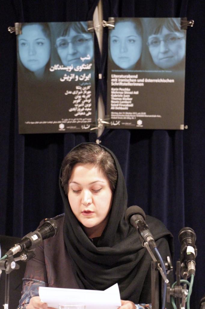 قصه خوانی مهرناز شیرازی عدل - عکس از  مجتبی سالک