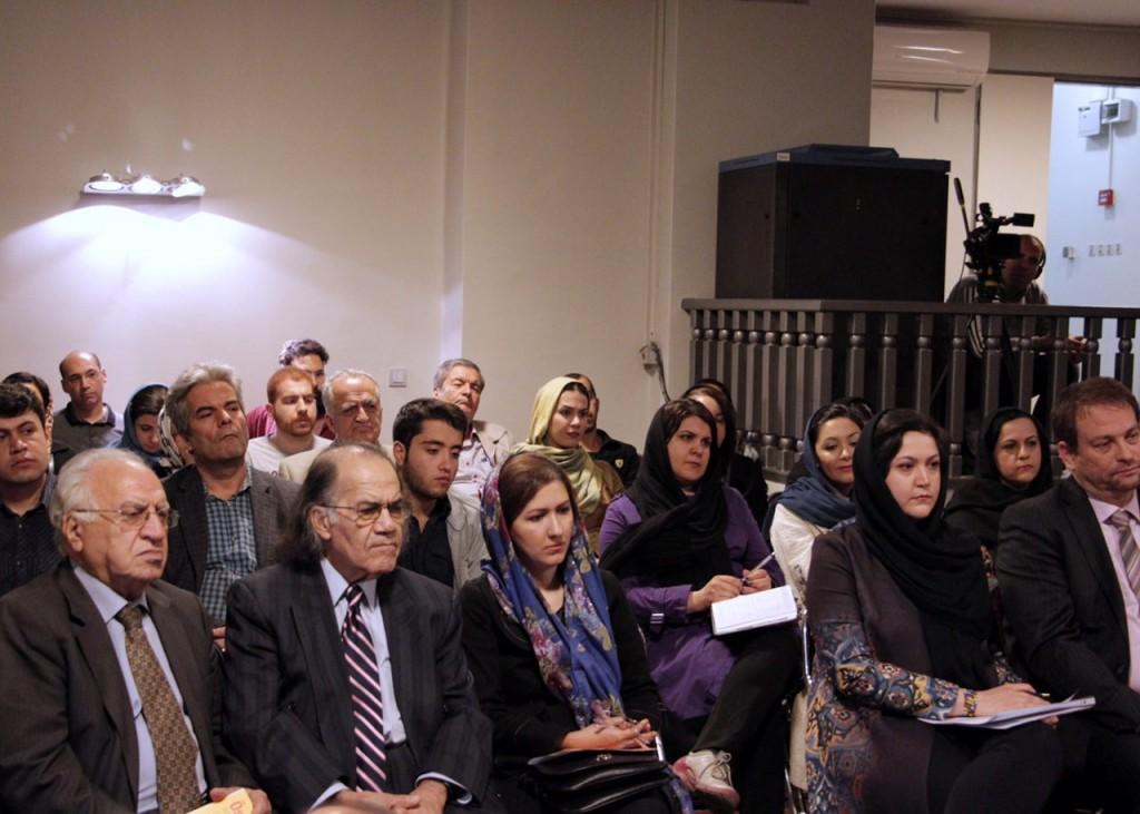 شب گفتگوی نویسندگان ایران و اتریش ـ عکس از مجتبی سالک