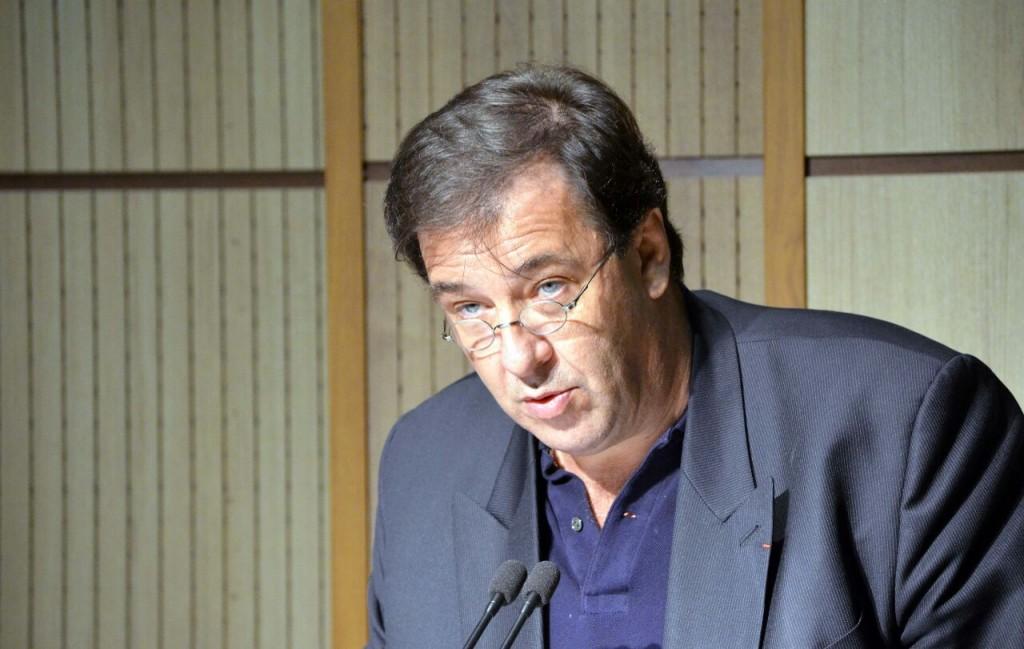 برونو فوشه ـ سفیر فرانسه در تهران ـ عکس از ژاله ستار