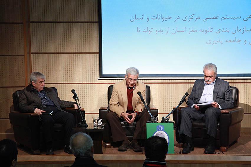 دکتر عطاءالله شیرازی، دکتر حسن عشایری و دکتر محمد اسلامی ـ عکس از مجتبی سالک