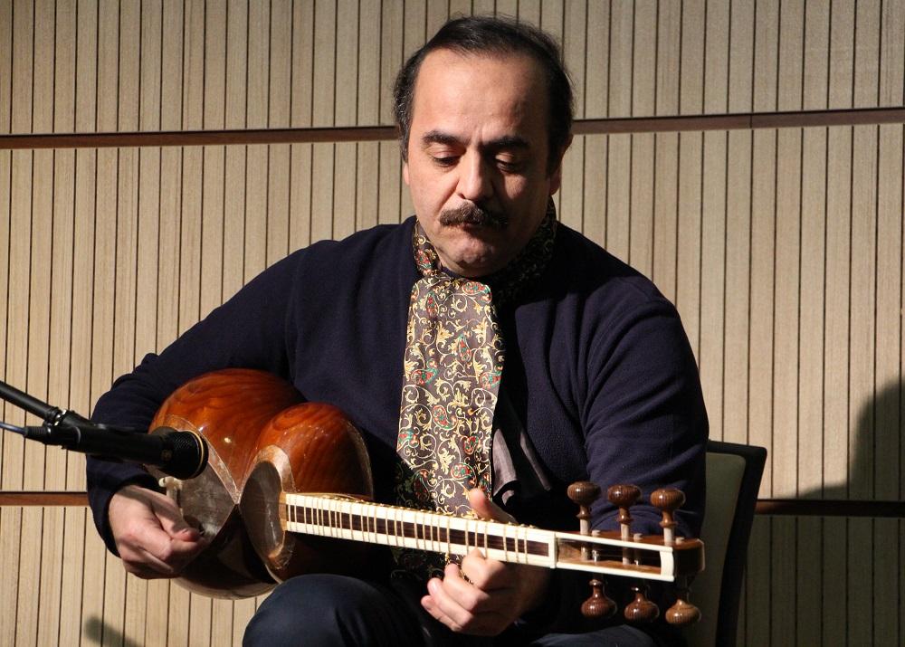 کیوان ساکت : تکنوازی تار به افتخار استاد فخرالدینی