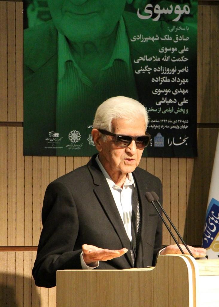 دکتر صادق ملک شهمیرزادی از پنحاه سال دوستی با زنده یاد موسوی حکایت می کند