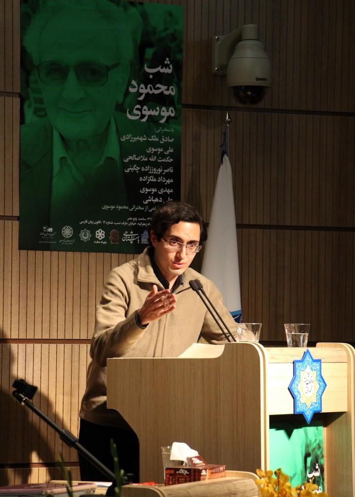 احسان شواربی پیام پروفسور بوشارلا را می خواند