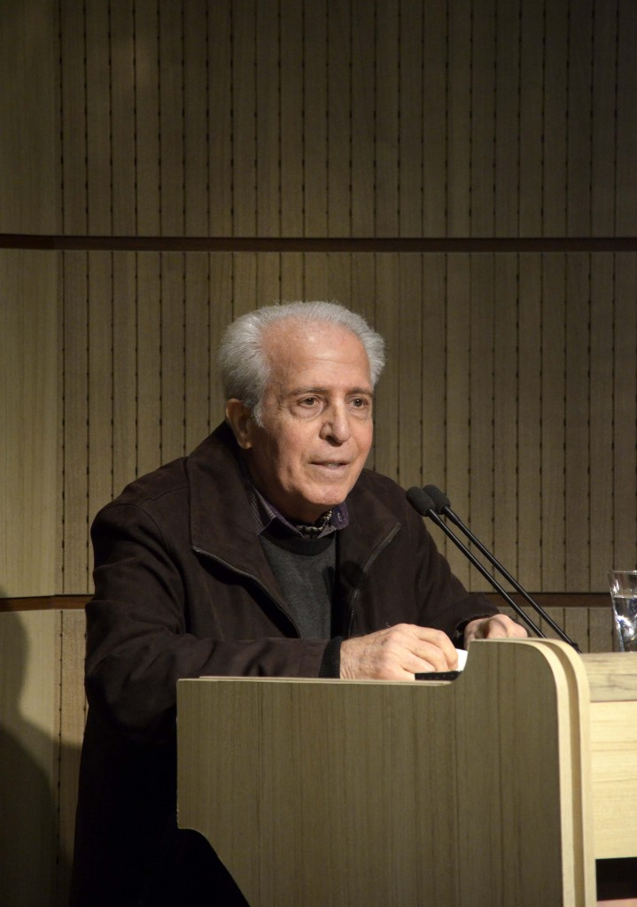 دکتر علی بلوکباشی از سالها شاگردی اش سخن می گوید - عکس از متین خاکپور