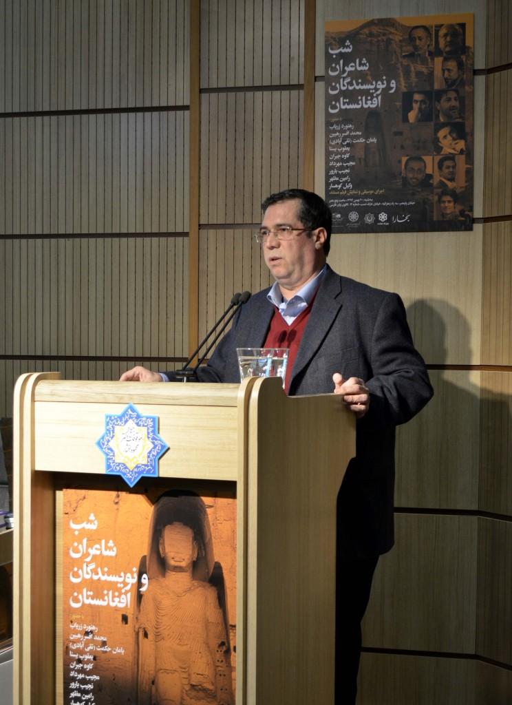 علی دهباشی از نشر آثار نویسندگان و شاعران افغانی در کِلک و بخارا می گوید