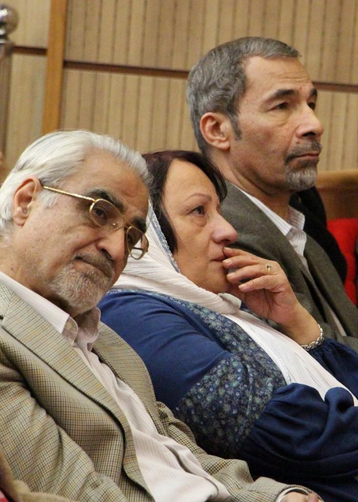 دکتر نصرالله پورجوادی و شهرزاد محجوب - عکس از مریم اسلوبی