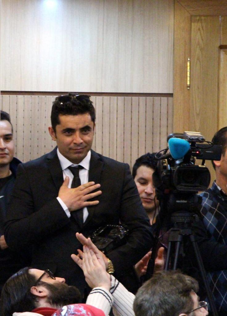 وکیل کوهسار هنرمند عکاس افغانستانی که نمایشگاهش برگزار شد