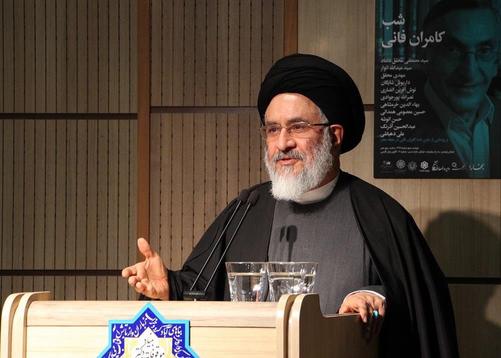 دکتر سید مصطفی محقق داماد - عکس از مریم اسلوبی