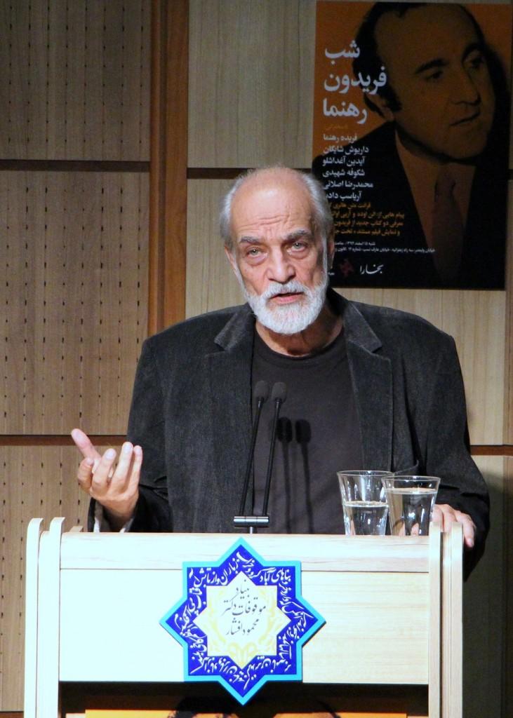 آیدین آعداشلو : ایران دوستی رهنما