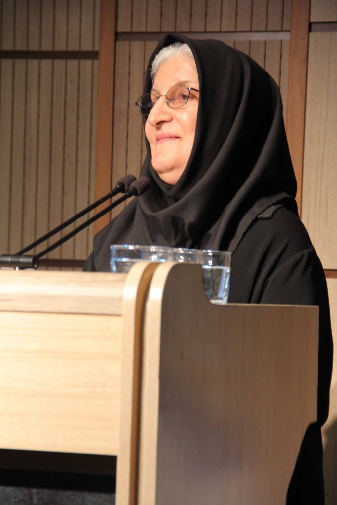 دکتر نوش آفرین انصاری - عکس از محتبی سالک