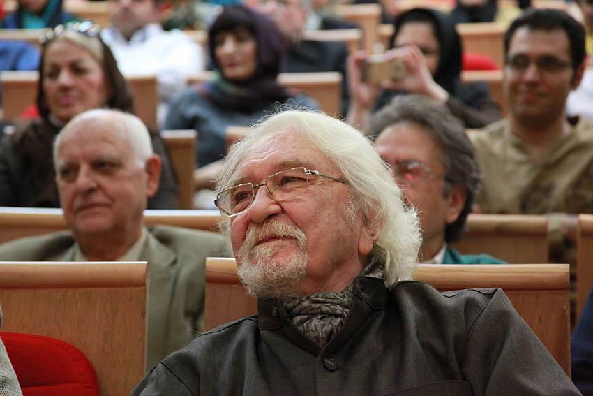 دکتر داریوش شایگان :کامران فانی در جامعه روشنفکری ایرانی مردی استثنایی است - عکس از مجتبی سالک